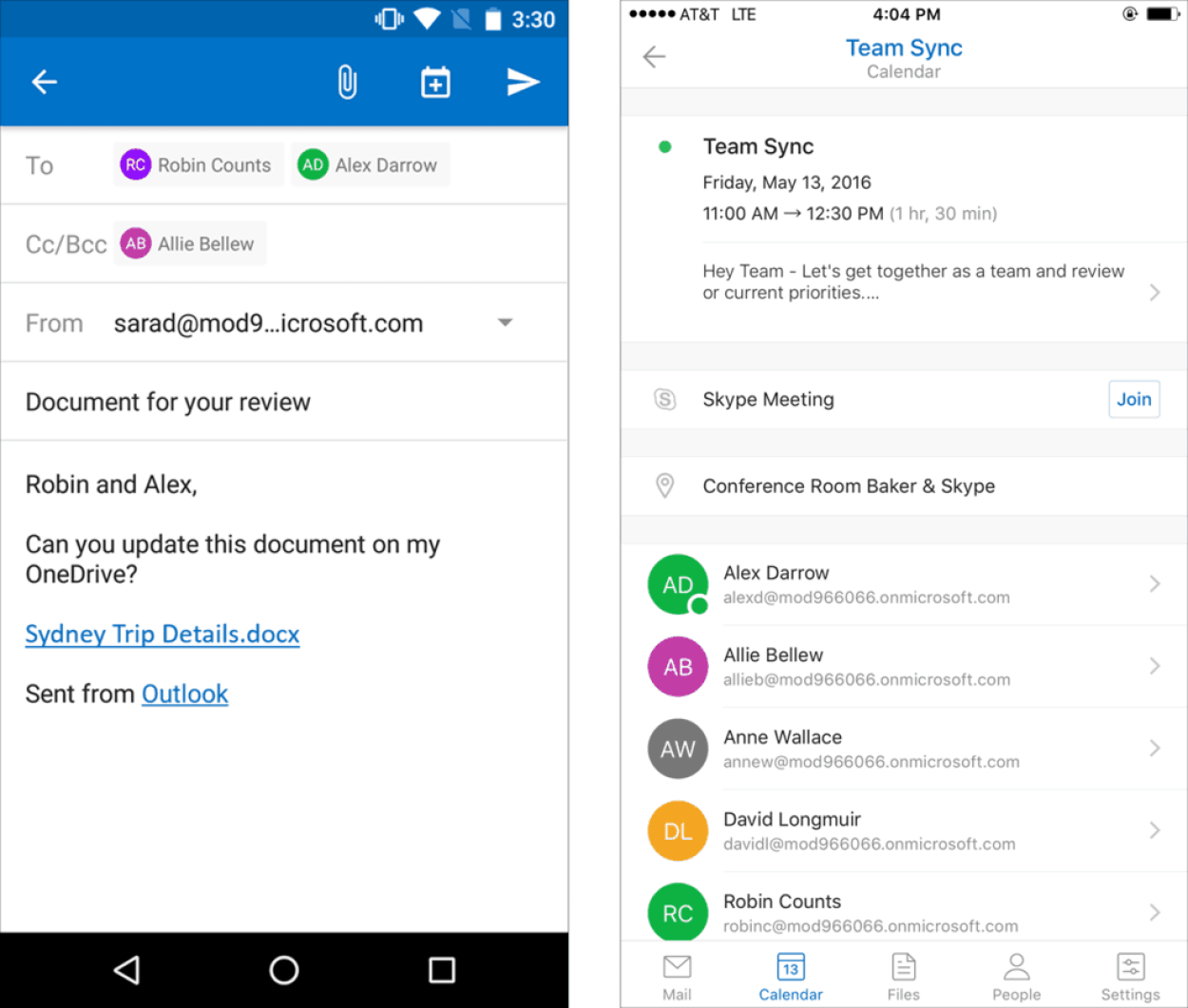 Office 365-May update Outlook