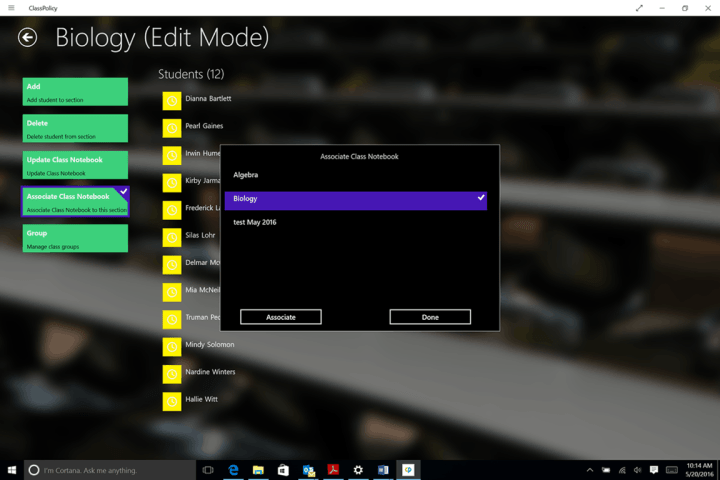 AssistX ClassPolicy makes it easier to use OneNote Class