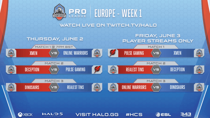 Halo Championship Series 2016 EU