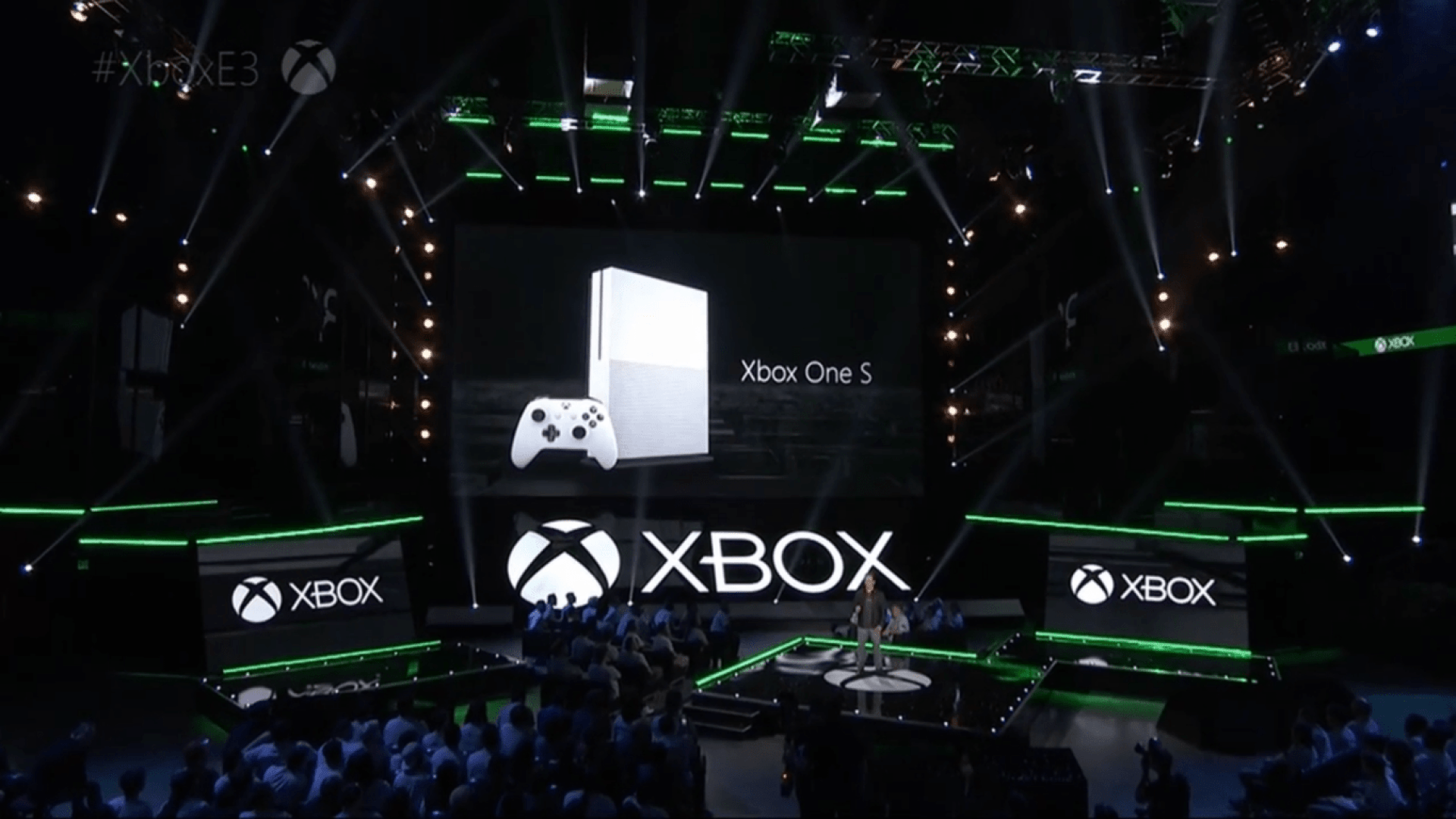 E3 2016 Xbox One S announcement