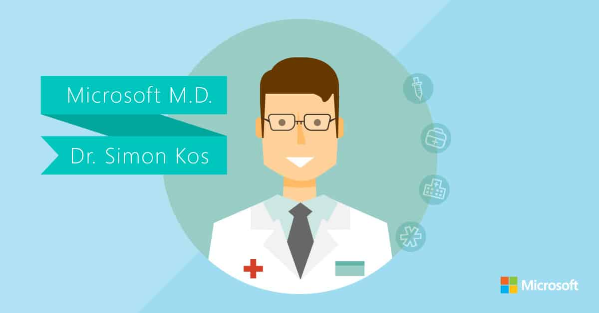Meet Dr  Simon Kos, Microsoft's new Chief Medical Officer OnMSFT com