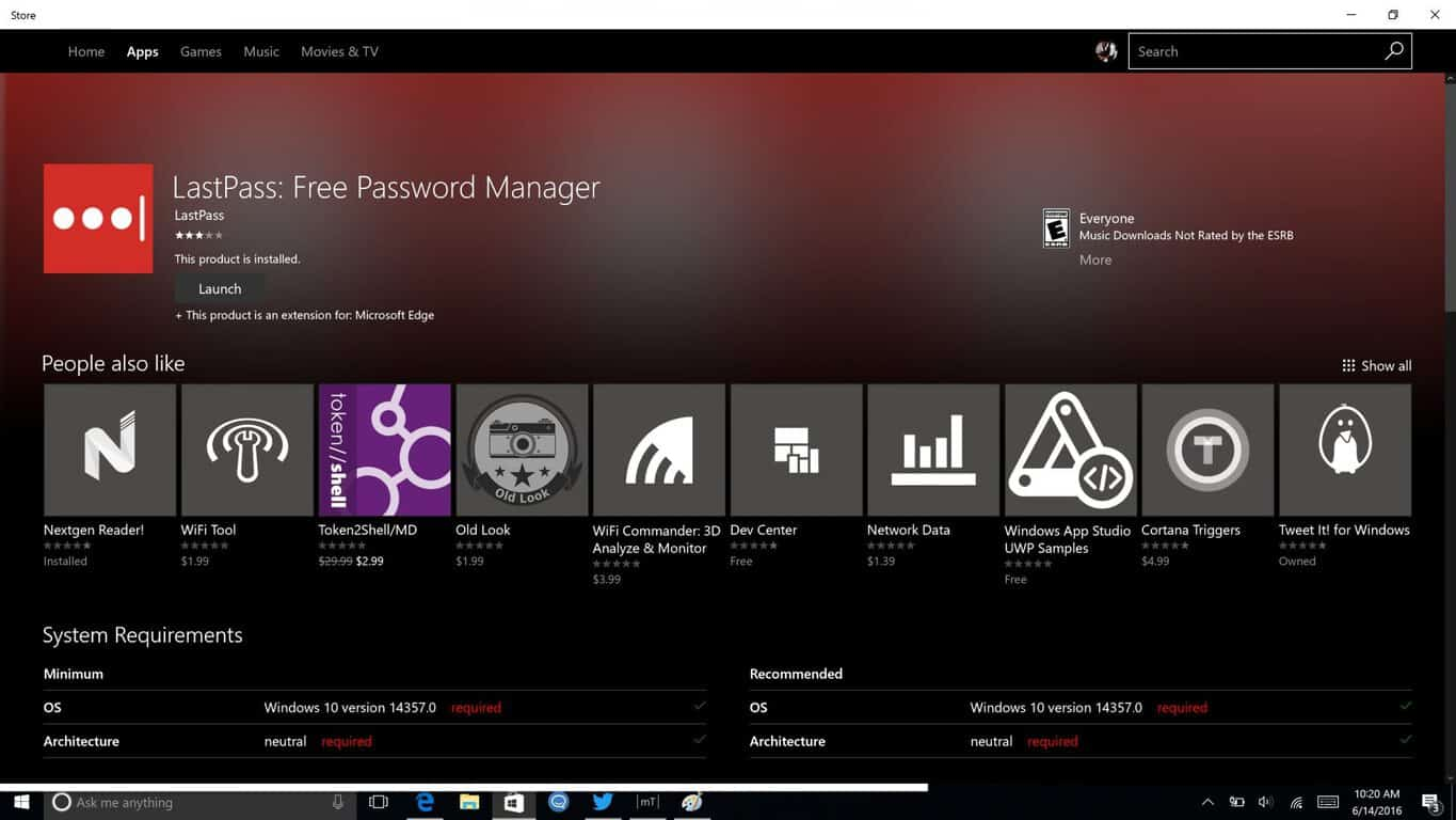 How to set up and use LastPass on Windows 10 Edge in 14361 OnMSFT com