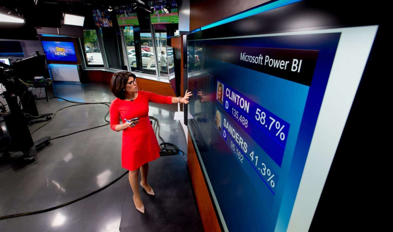 KING 5, Power BI, Surface Hub