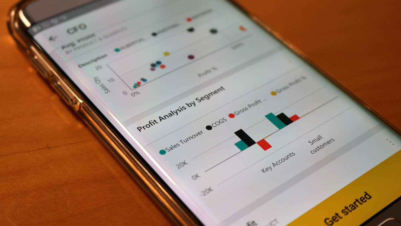 Power BI app for Android updated with favorites management