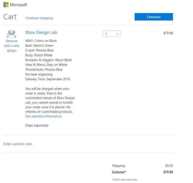 Xbox One Wireless Controler Customize Step 3