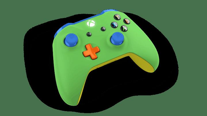 Our custom designed Xbox controller