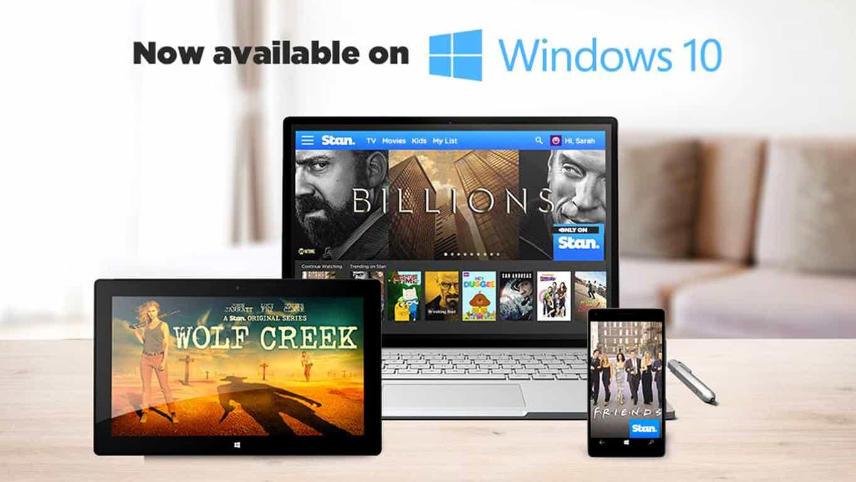 Stan Windows 10 App