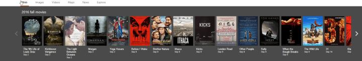 Bing Fall Movies