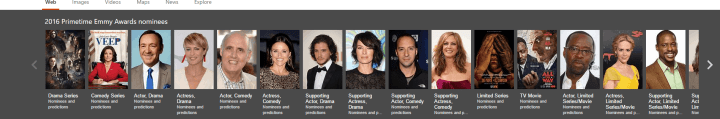 Bing PrimeTime Emmy Awards
