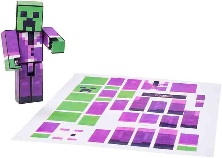 Minecon attendees will be able to design their own Minecraft figurine.