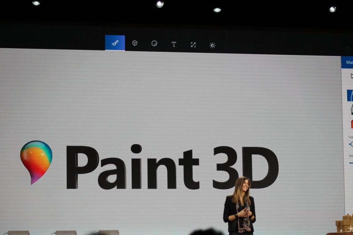Paint, Windows 10, Windows 10 Creators Update, Microsoft Event
