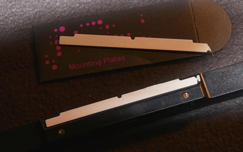 Tobii EyeX mounting magnets