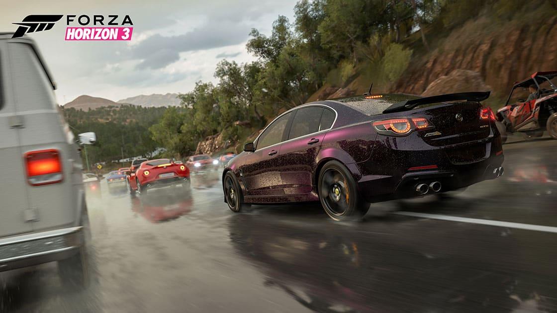 Forza Horizon 3, ForzaRC, Microsoft, Windows 10, Xbox One