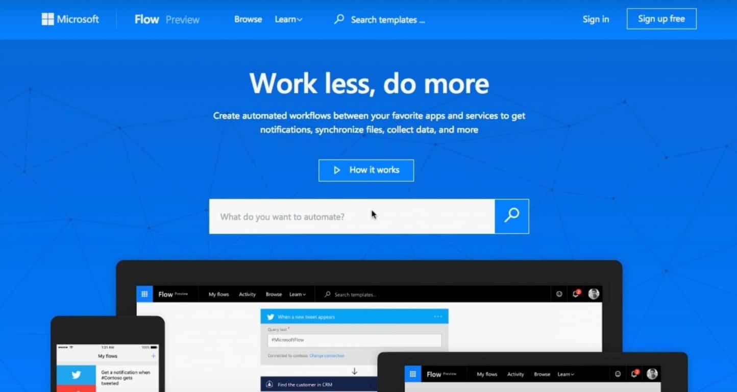 Microsoft Flow arrives on Windows 10 Mobile OnMSFT com