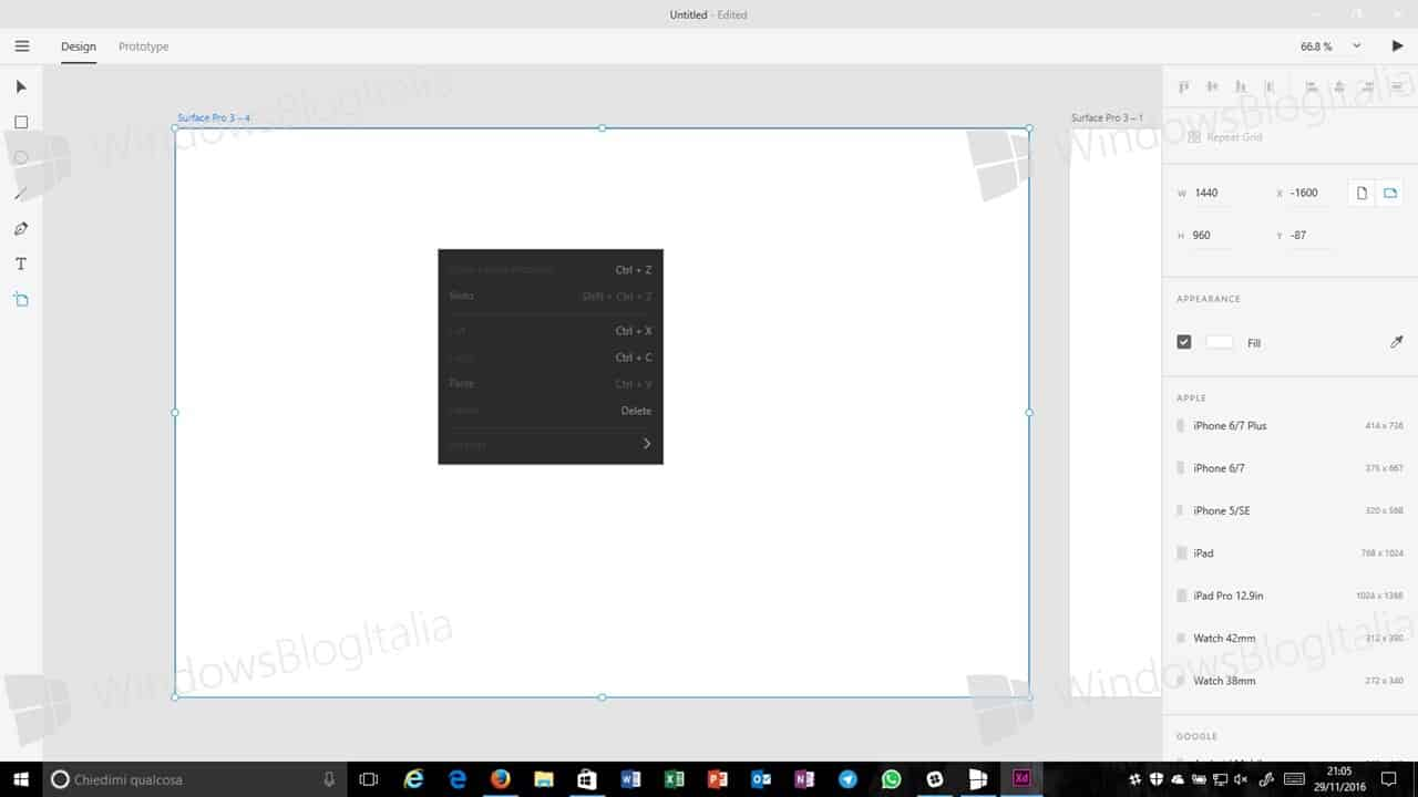 adobe xd для windows 8