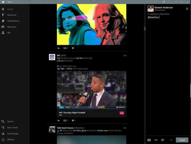 Twitter for Windows 10 adds native GIF support