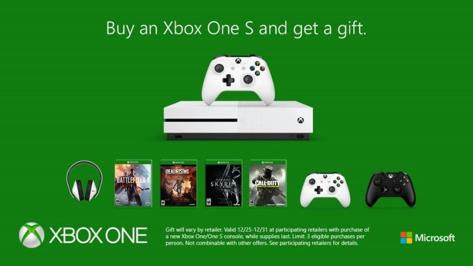 End the year with one last Xbox One deal, buy a console get