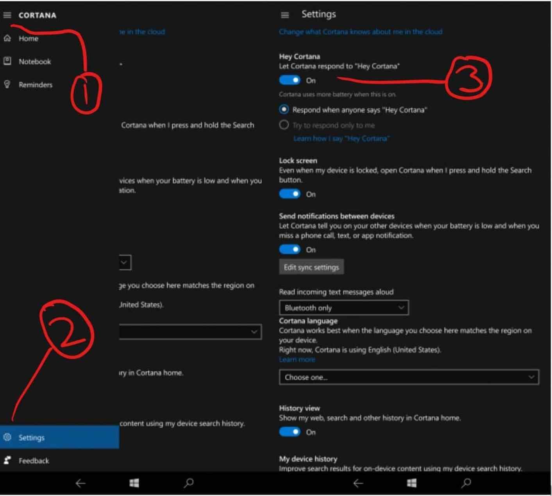 How to enable 'Hey Cortana' on Windows 10 Mobile OnMSFT com