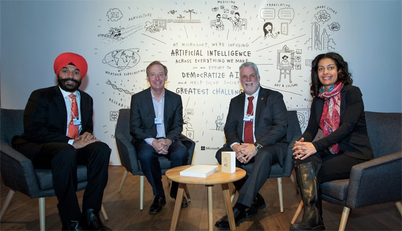 Microsoft AI investments Montreal