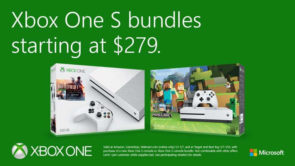 Xbox One S Prices Drop Even More 500GB Model Now 279