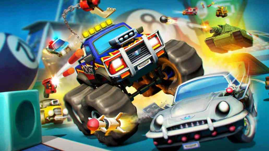 Micro Machines are back in a new video game for Xbox One and Windows