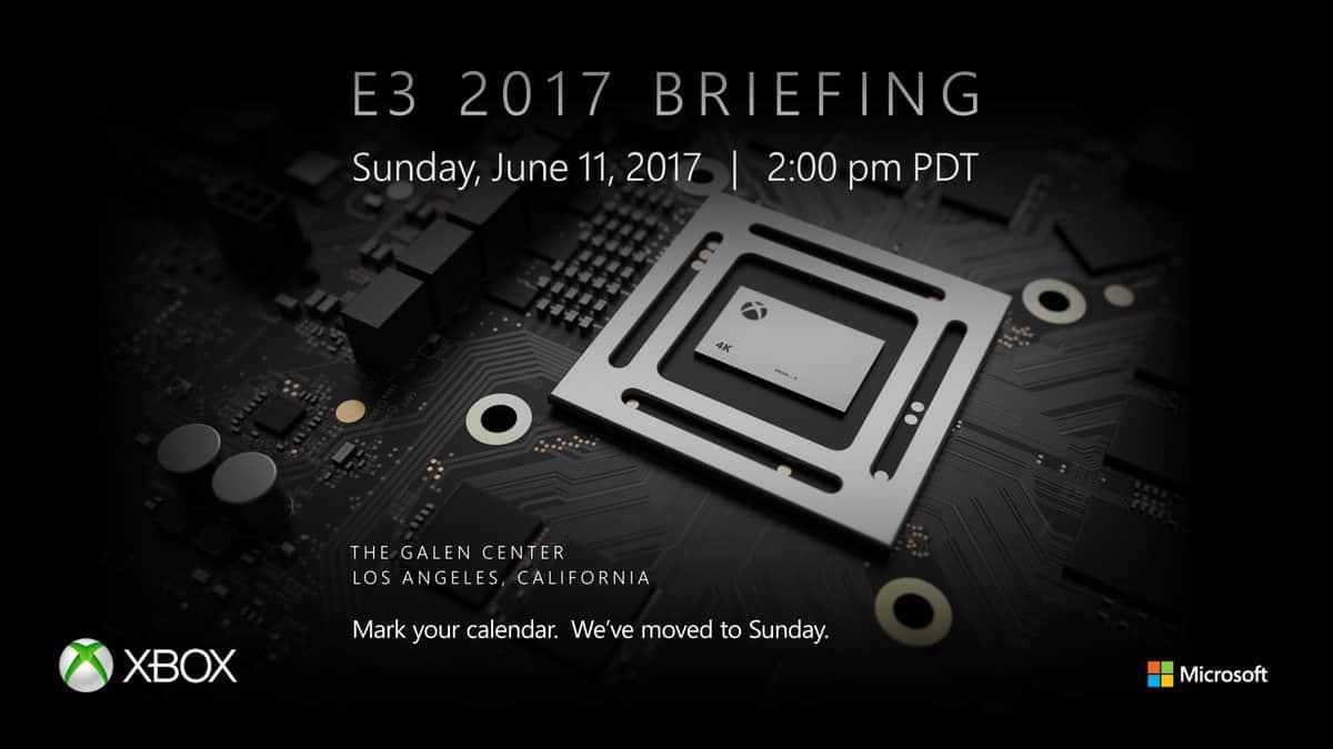 2017 E3 Xbox Media Briefing