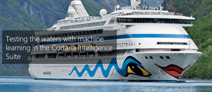 Carnival, Microsoft, Cortana Intelligence
