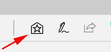 Edge star hub icon