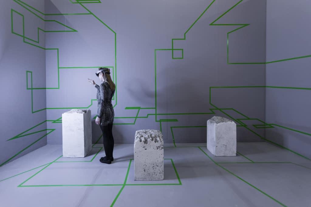 Artsy HoloLens Concrete storm