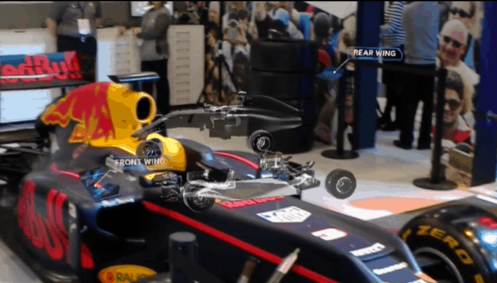 HoloLens and F1