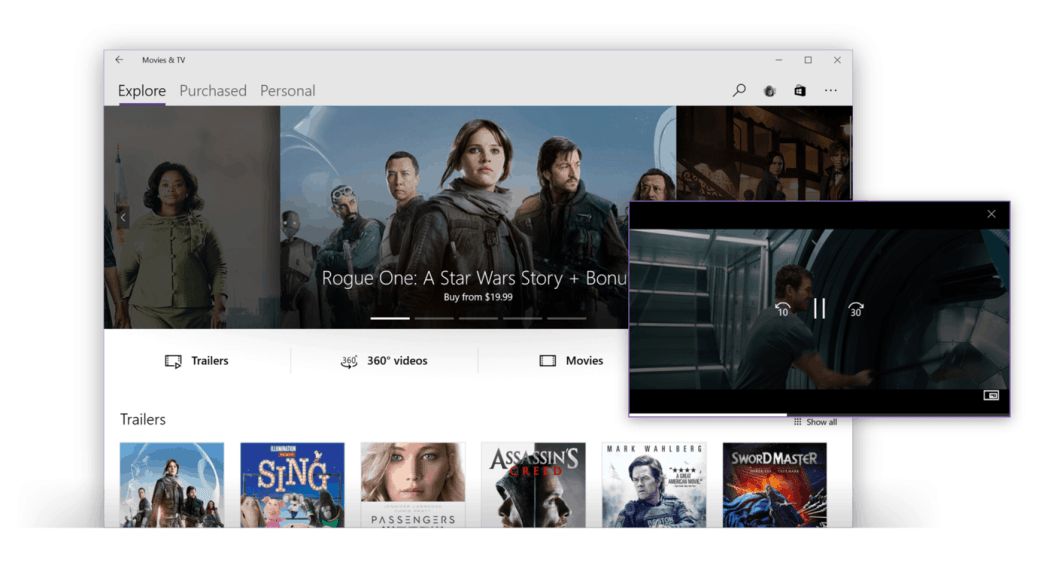 Microsoft news recap: Movies & TV service could be coming to iOS and