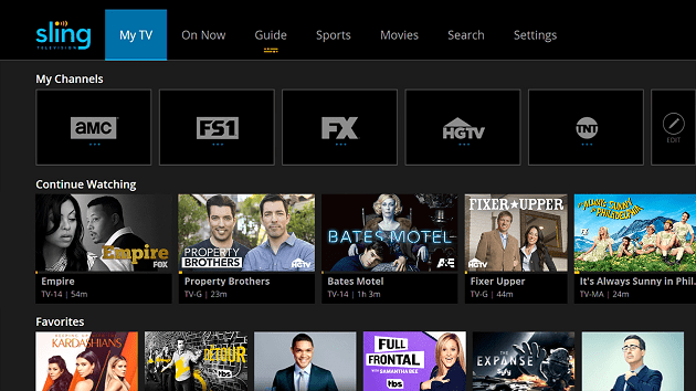 Sling TV Xbox One