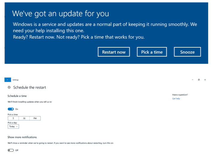Windows Update Creators Update
