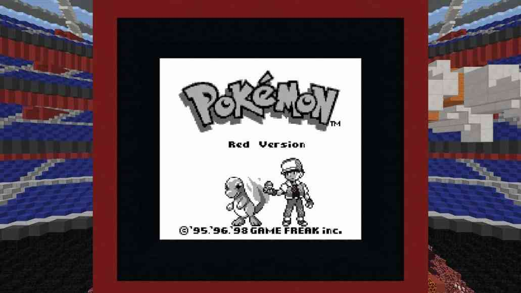 gamers can now play pokémon red in minecraft sort of on msft