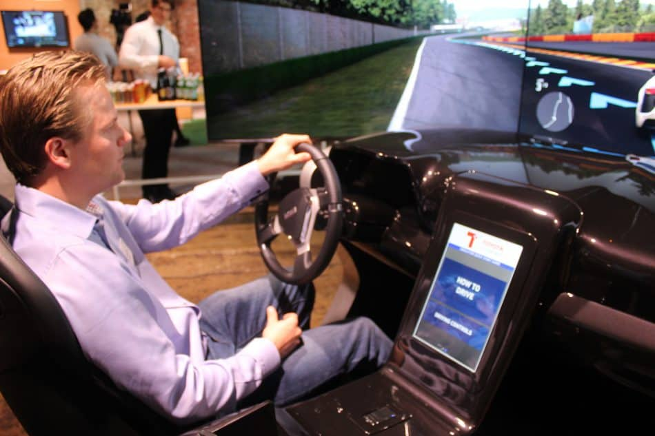 Driving the Connected Car Simulator