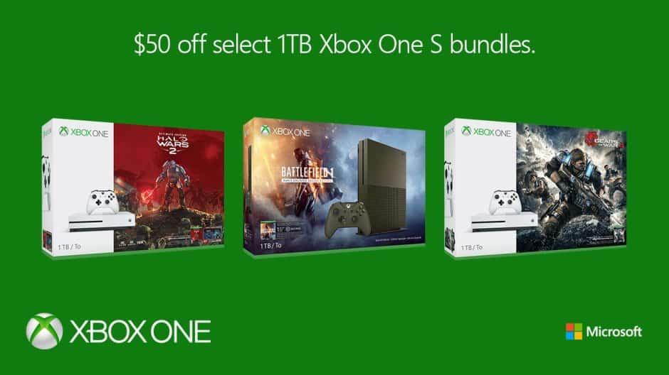 1 TB Xbox One Bundles