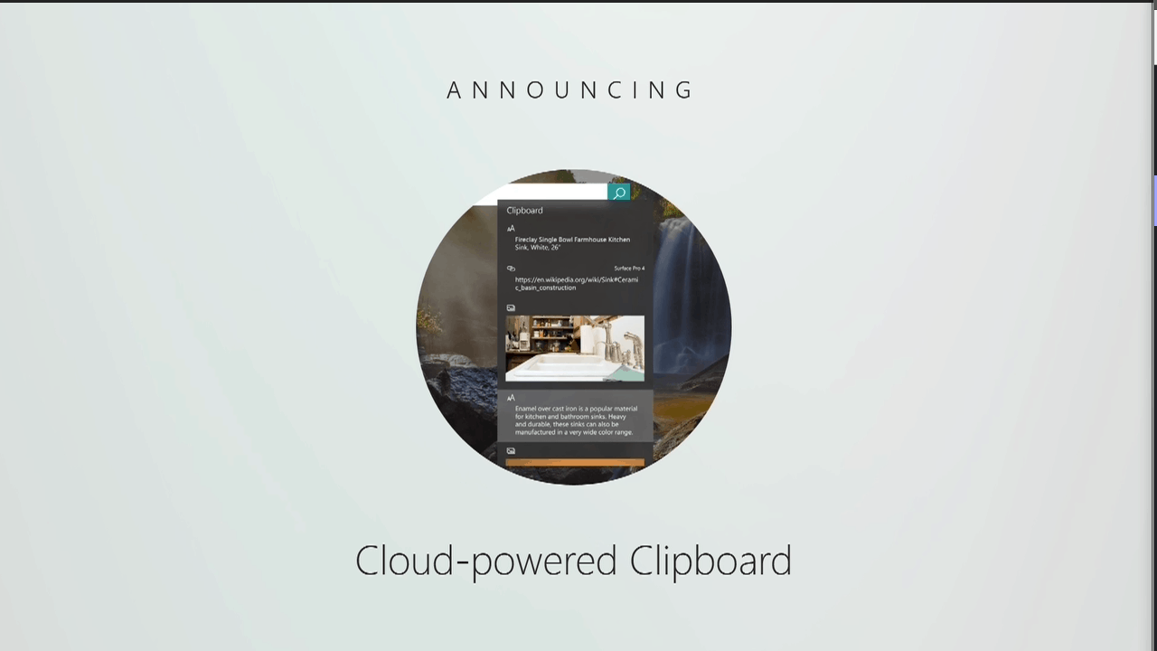 Cloud Powered Clipboard