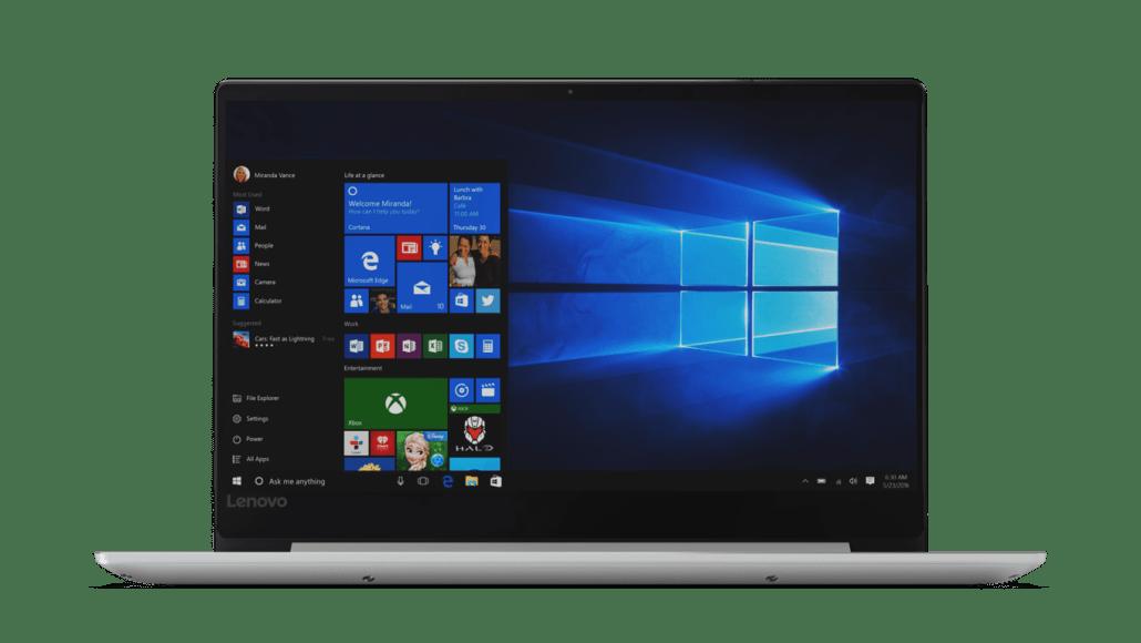 Microsoft, Lenovo, Windows 10