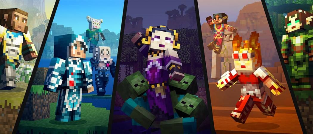 Magic The Gathering Skin Pack Comes To Minecraft Windows And - Skins para minecraft pe windows phone