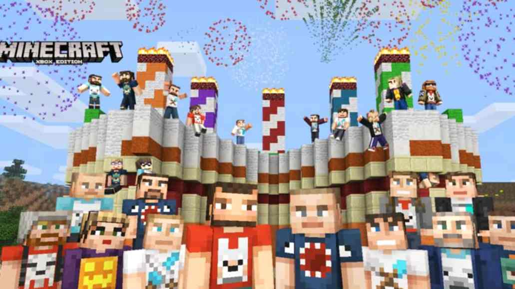 Grab The FREE Minecraft Xbox Anniversary Skin Pack Now For Xbox One - Skins para minecraft pc con capa