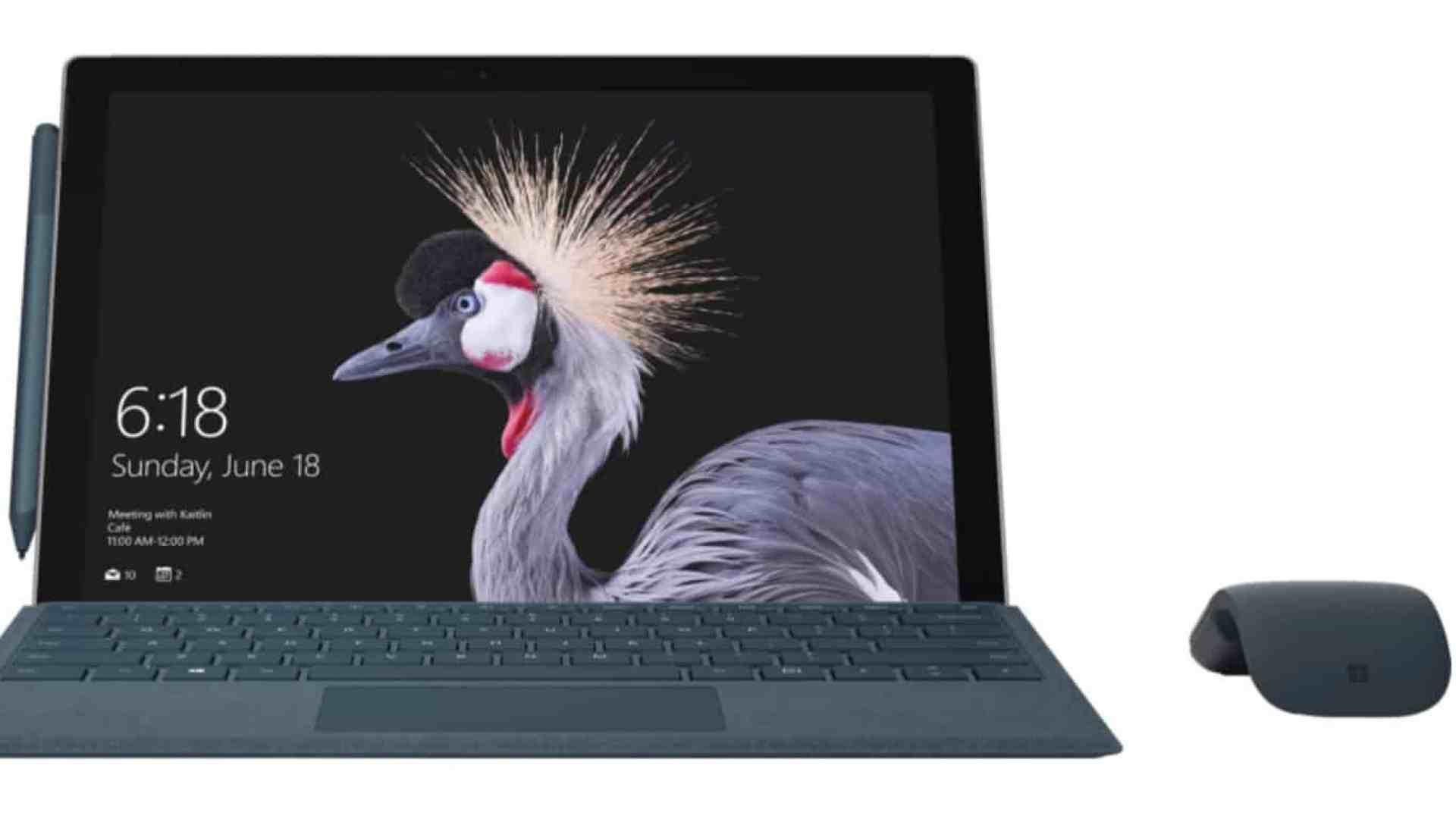 Microsoft's Surface Pro 5
