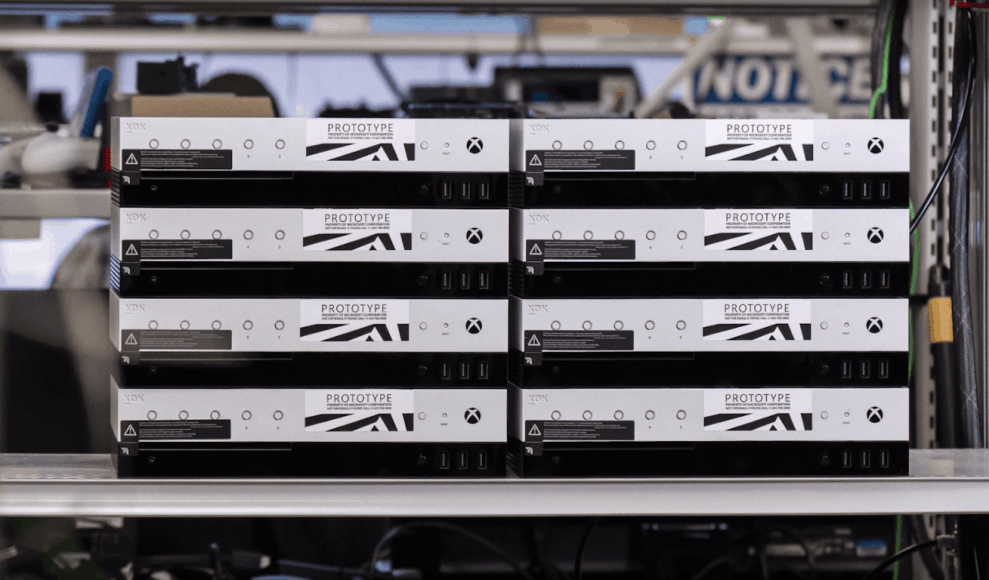 Take a tour of the Xbox Project Scorpio development kit with Major ...