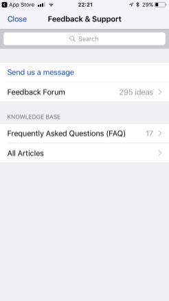 Help and Feedback