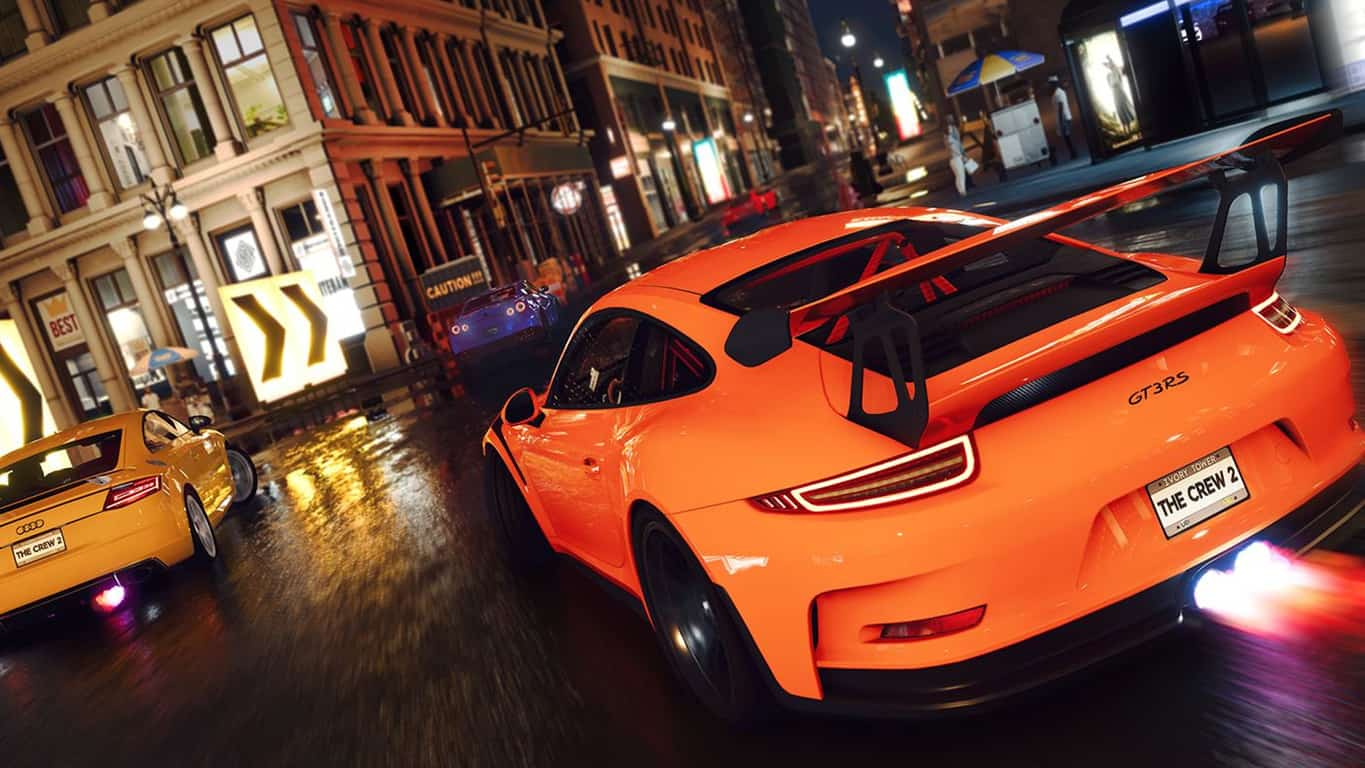 The Crew 2 on Xbox One