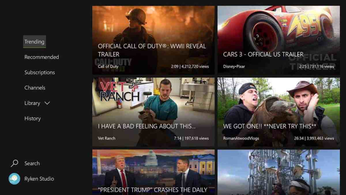 myTube is bringing 4K YouTube videos to Xbox One, currently in beta