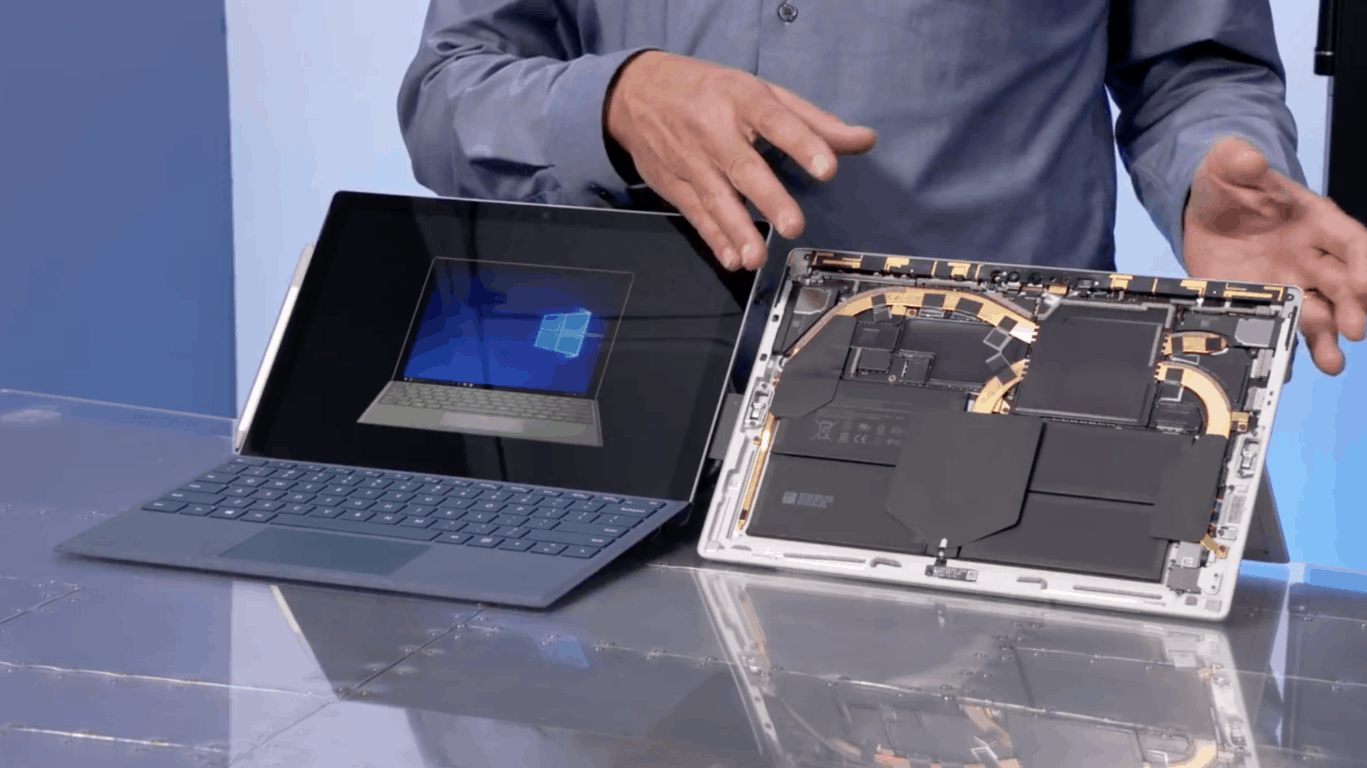 Surface Pro 6, Surface Book 2 locked down to 400 MHz