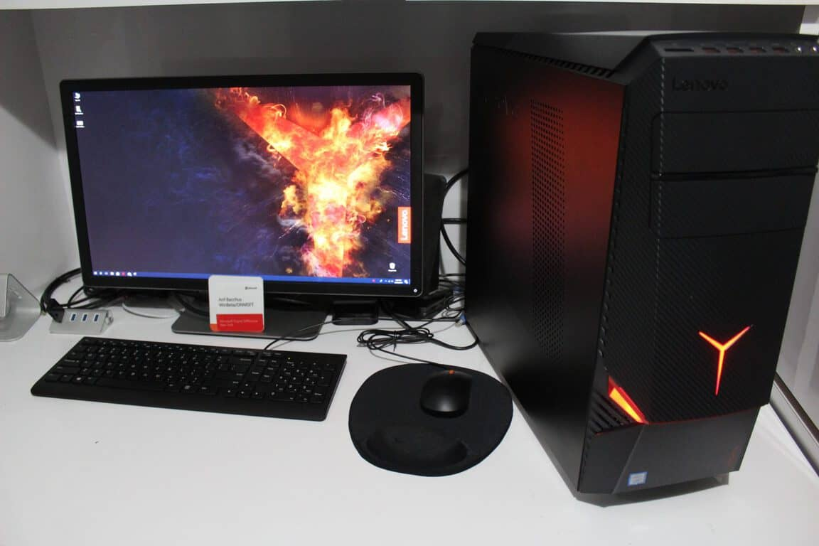 Lenovo Legion Y720 Tower review: Midrange price, but big