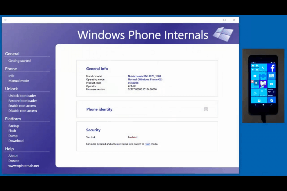 Windows Phone hacker updates Internals tool to unlock all
