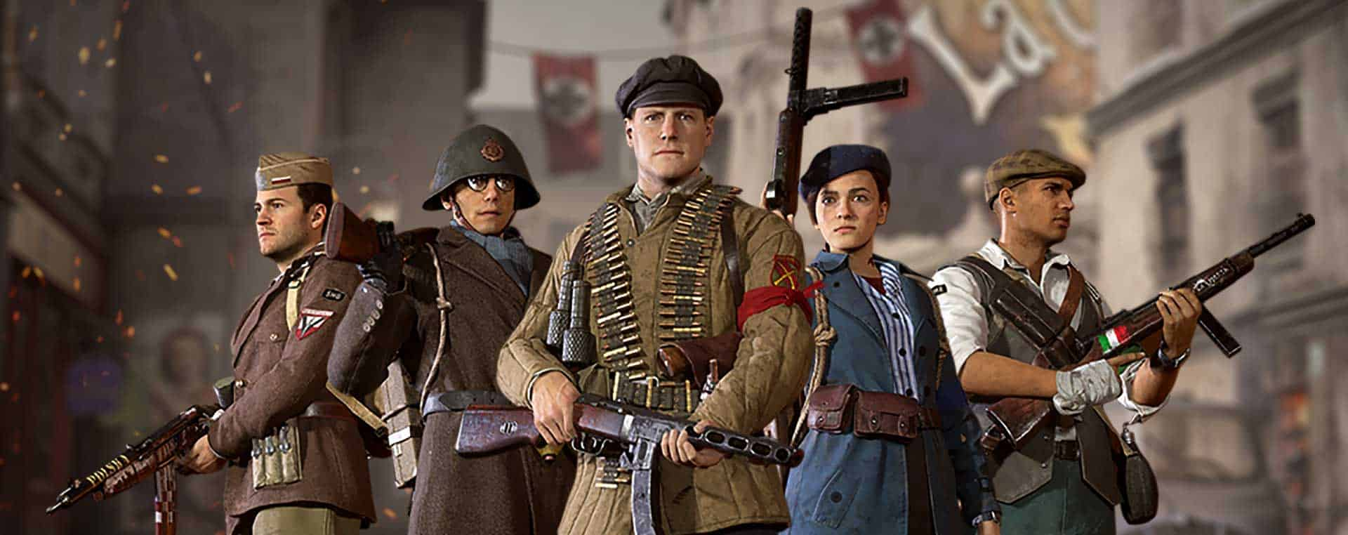 Call of Duty WWII Resistance Community Event