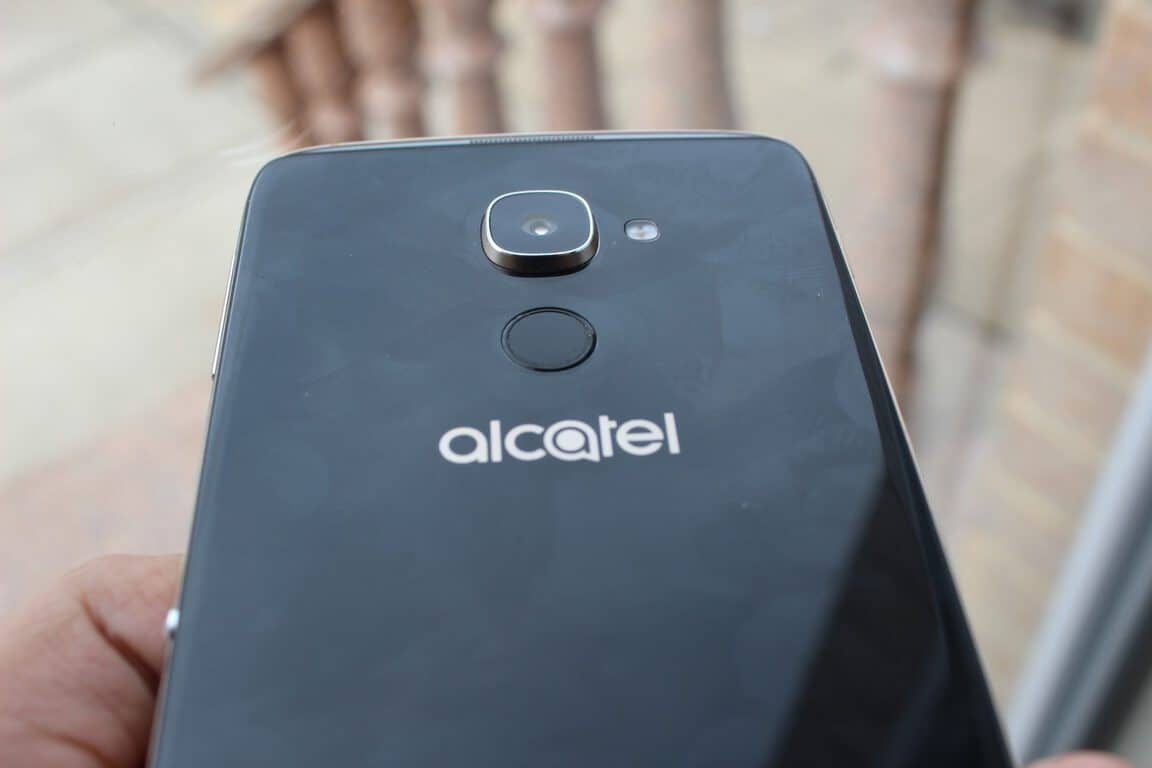 Alcatel Idol 4S Fingerprint Reader